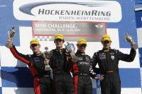 Podium MIN I Challenge 2011 Hockenheim