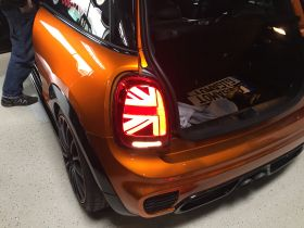 Gigamot MINI F56 Heckleuchten Union Jack