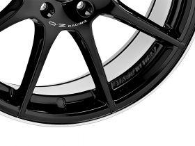 VELOCE GT (GLOSS BLACK+DIAMOND LIP+SILVER LETTERING)